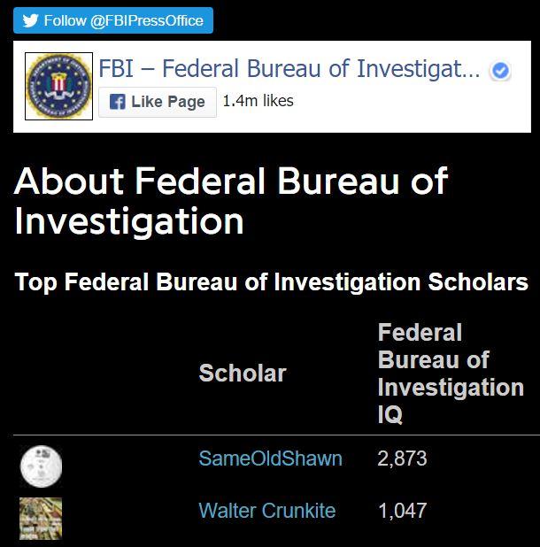 FBI walter crunkite