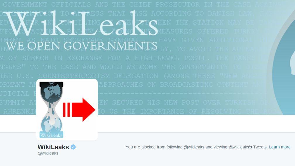 wikileaks block