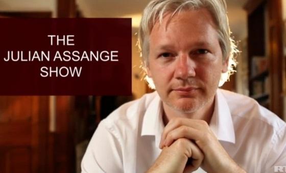 julian assange show